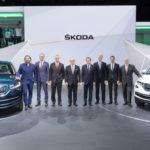 Чехи на Парижском автосалоне представили кроссовер Skoda Kodiaq