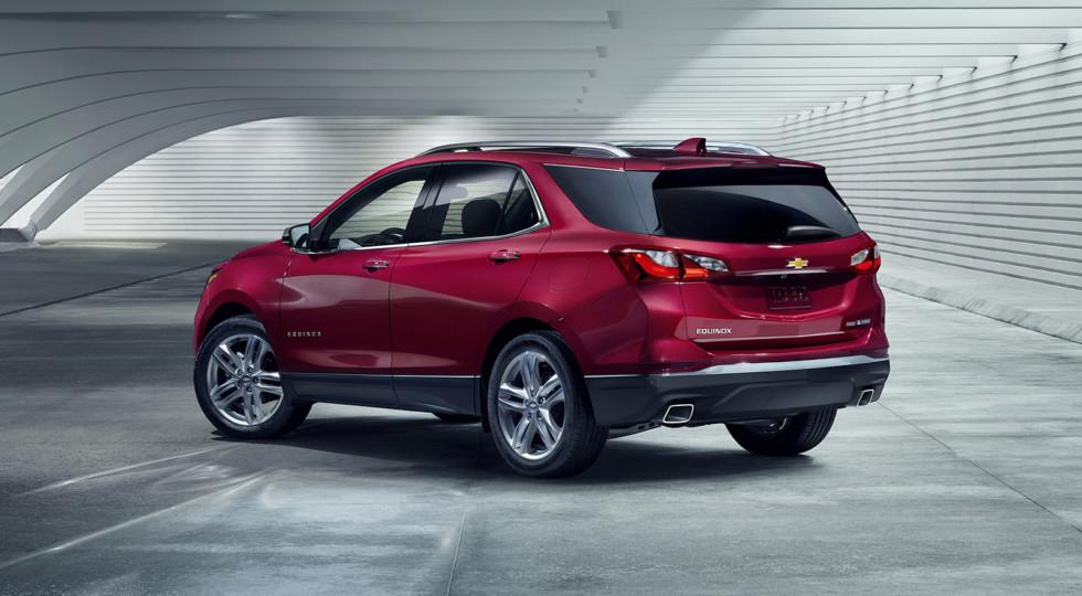 Американцы представили новый компакт-кроссовер Chevrolet Equinox