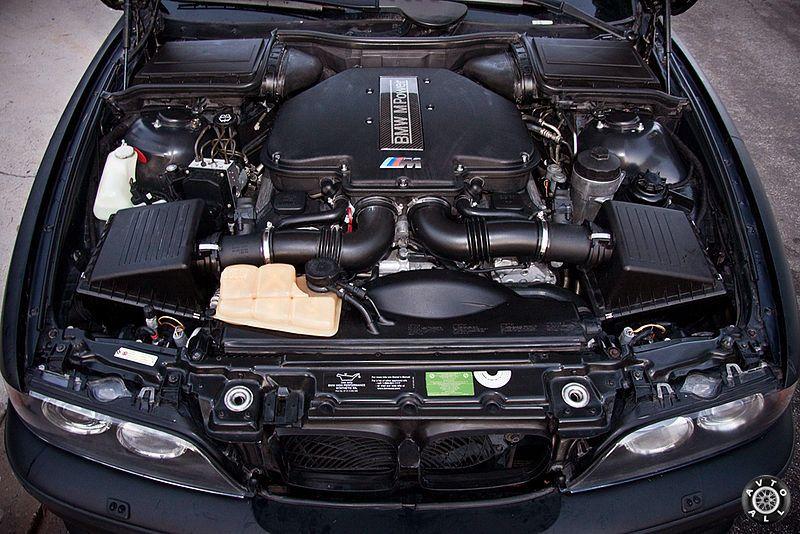 bmw-m5-e39 мотор