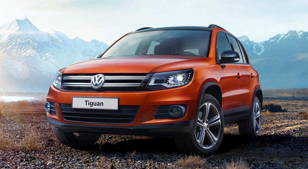 Российское представительство Volkswagen удешевило все комплектации Tiguan