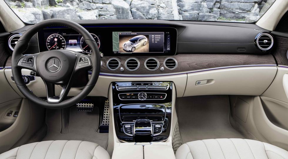 Mercedes начнет продавать вседорожный универсал E-Class ближе к весне 2017 года