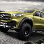 Немцы представили концепт нового пикапа Mercedes-Benz X-Class