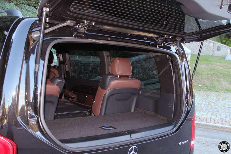 mercedes-benz-v-class багажник