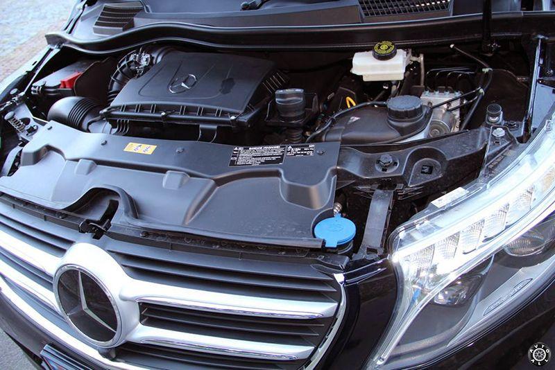 mercedes-benz-v-class мотор