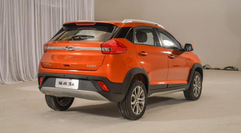 Китайцы запустили в тираж новый паркетный внедорожник Chery Tiggo 3X