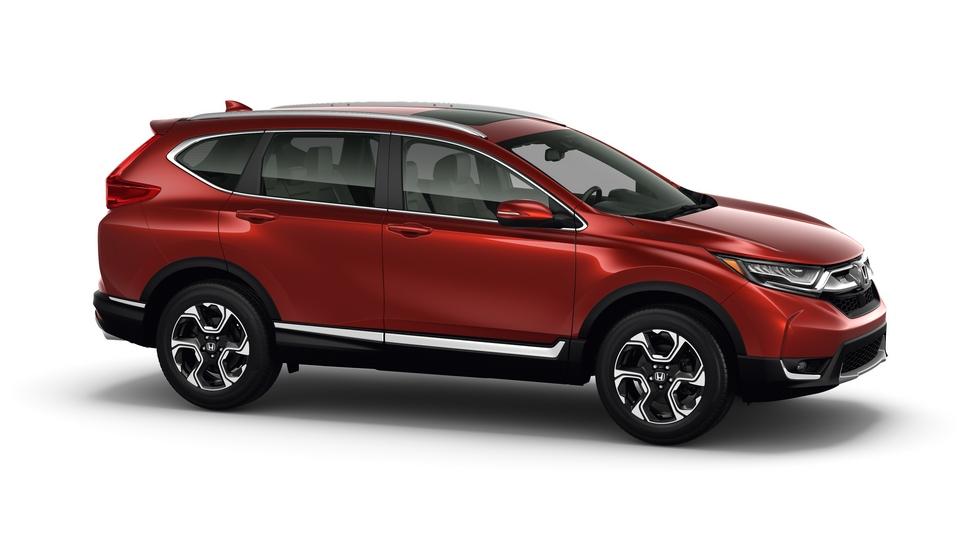 Новопоколенная Honda CR-V для американского авторынка получила новый мотор и турбину
