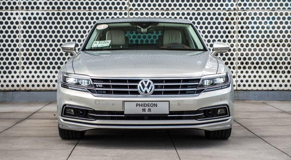 Немцы начали продавать китайцам Volkswagen Phideon