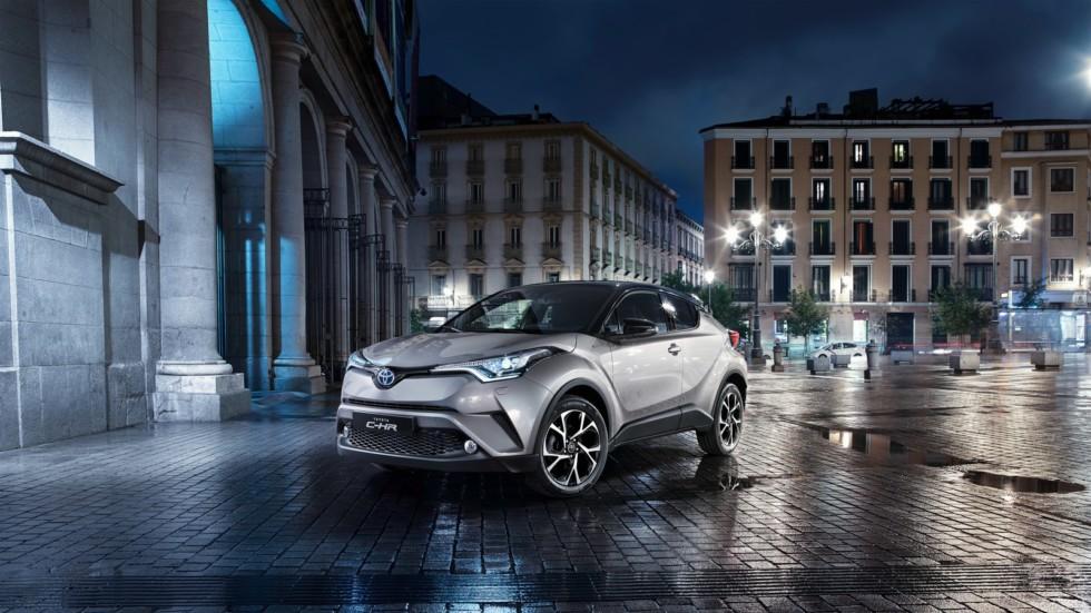 Японцы озвучили прайс на вседорожник Toyota C-HR