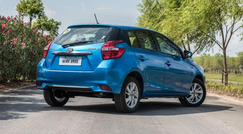 Японцы поставят новый седан Toyota на китайский авторынок