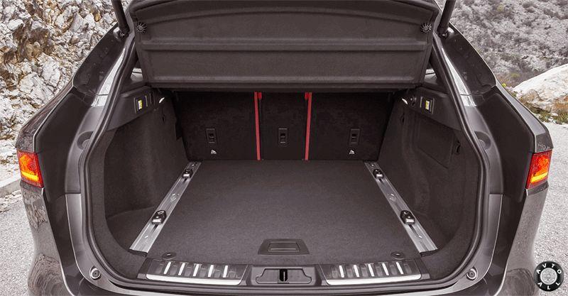 F-Pace багажник