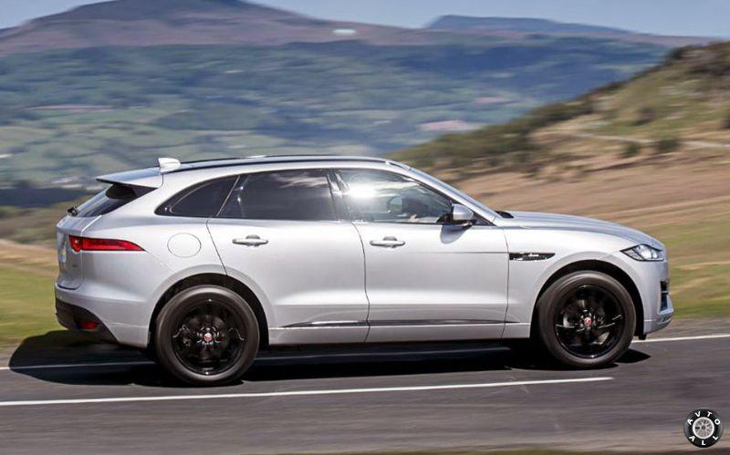 Jaguar F-pace 2017 фото