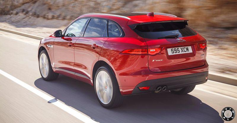 Jaguar F-Pace фото