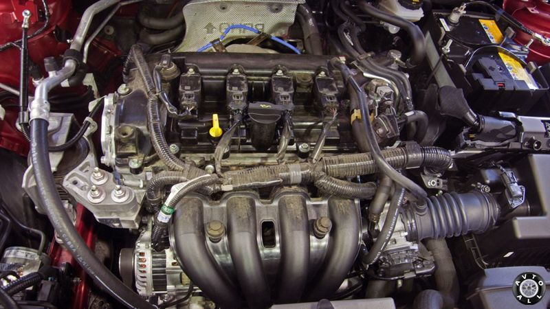 mazda 3 мотор