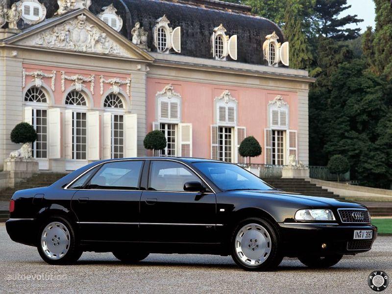 фото Audi A8 D2