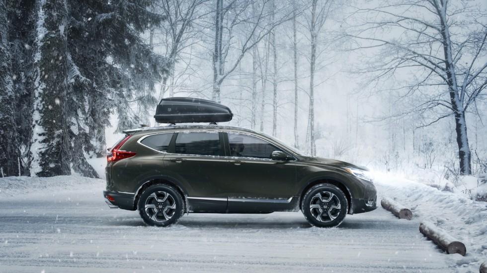 Японцы запустили серийное производство новопоколенного вседорожника Honda CR-V