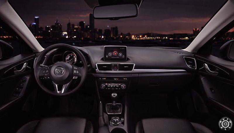 Mazda 3 bm салон