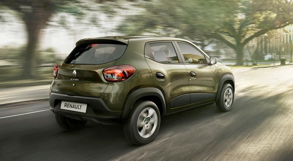 """Компактный французский хэтчбек Renault Kwid уже разошелся стотысячным """"тиражом"""""""