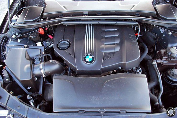 современный мотор БМВ