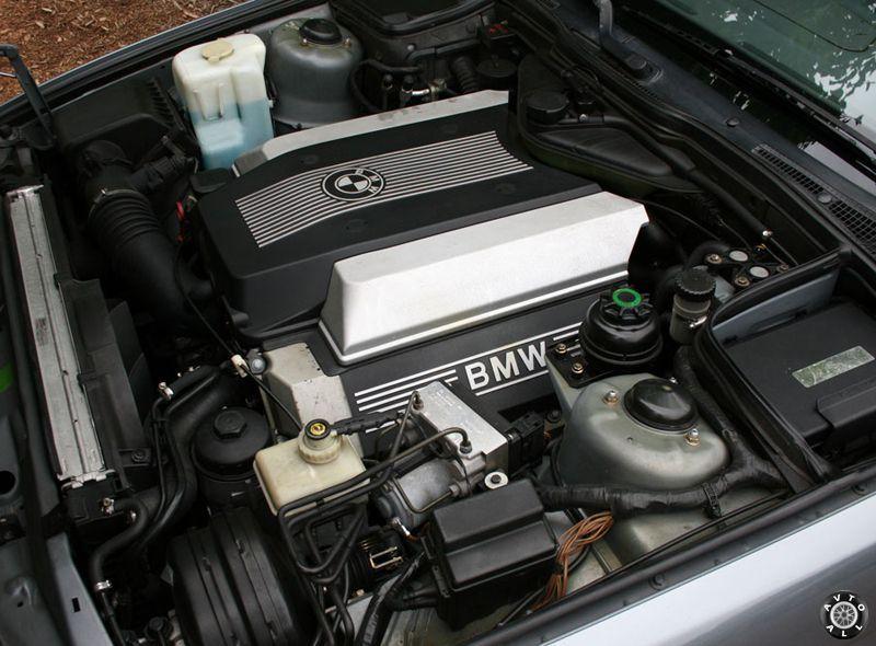 старый мотор БМВ