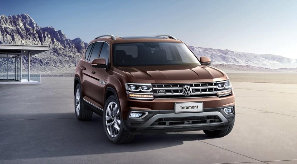 Немцы поведали, что будет под капотом российской версии нового кроссовера Volkswagen Teramont