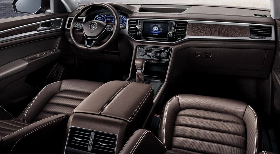 Немцы рассказали о китайской версии кроссовера Volkswagen Teramont