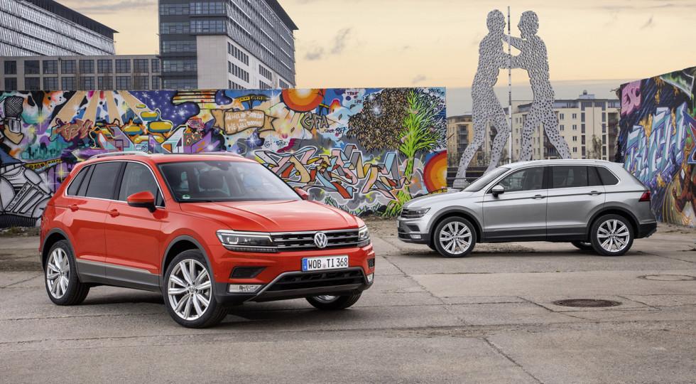 Немцы рассказали о доступных для россиян сборках новопоколенного Volkswagen Tiguan