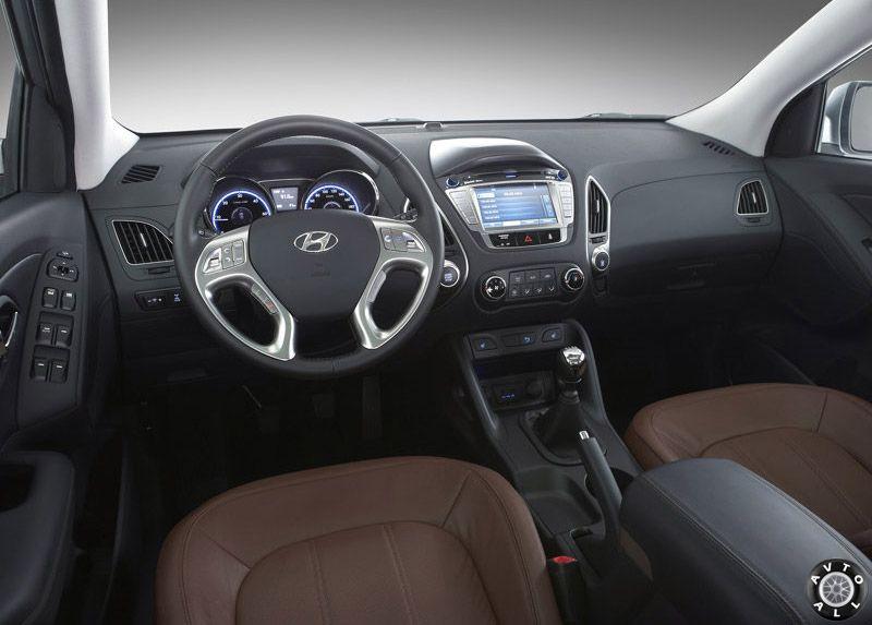 Hyundai ix35 салон
