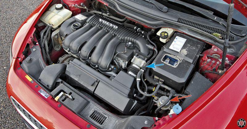 Volvo S40 двигатель