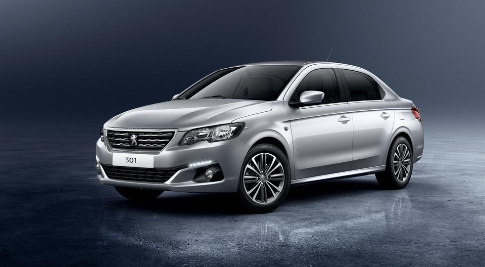 Французский седан Peugeot 301 уходит с российского авторынка