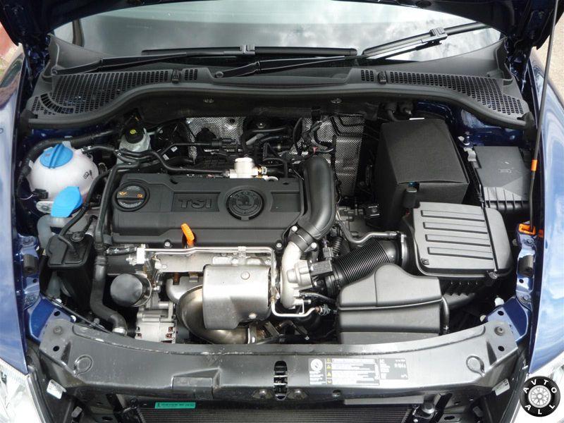 skoda octavia мотор 1,4