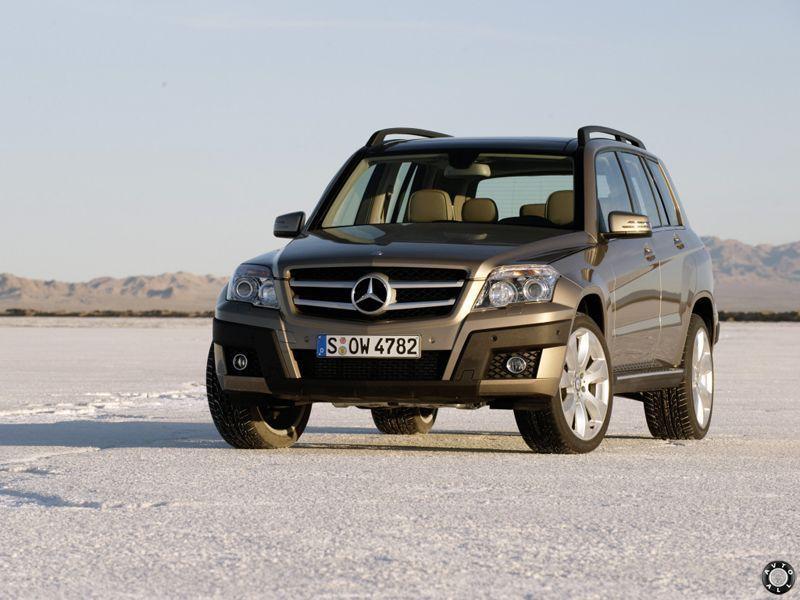 GLK Mercedes с пробегом
