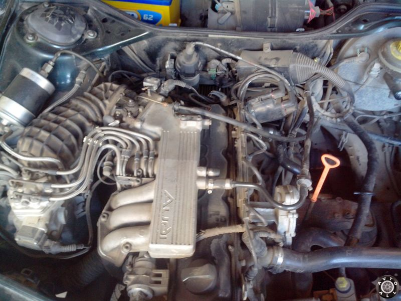 Audi A100 мотор