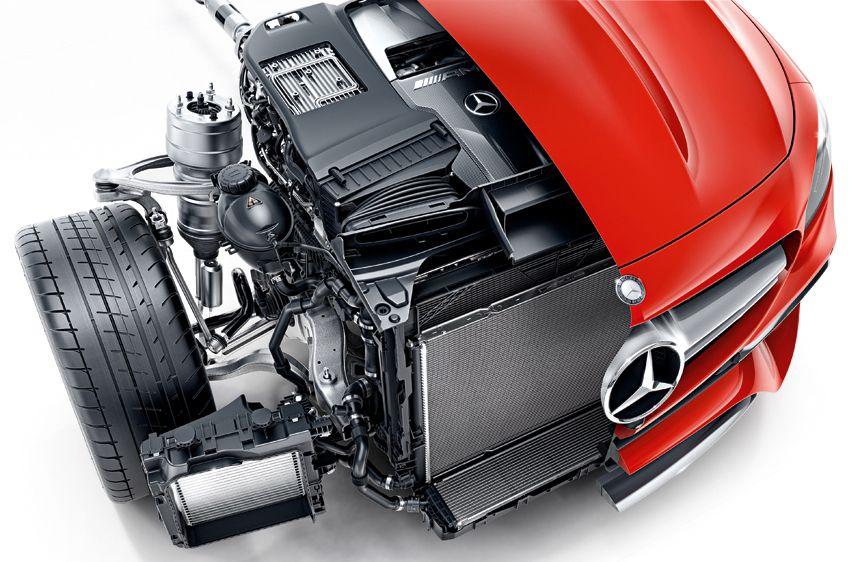 Mercedes AMG E 63 S мотор