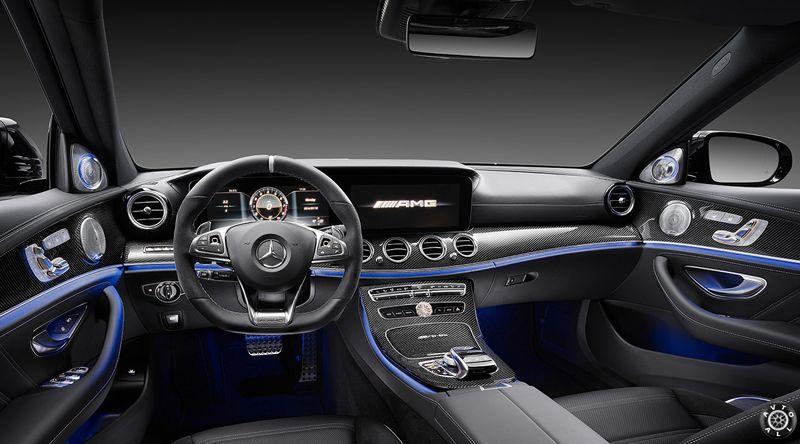 Mercedes AMG E 63 S салон