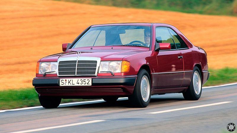 Mercedes-Benz W124 купе