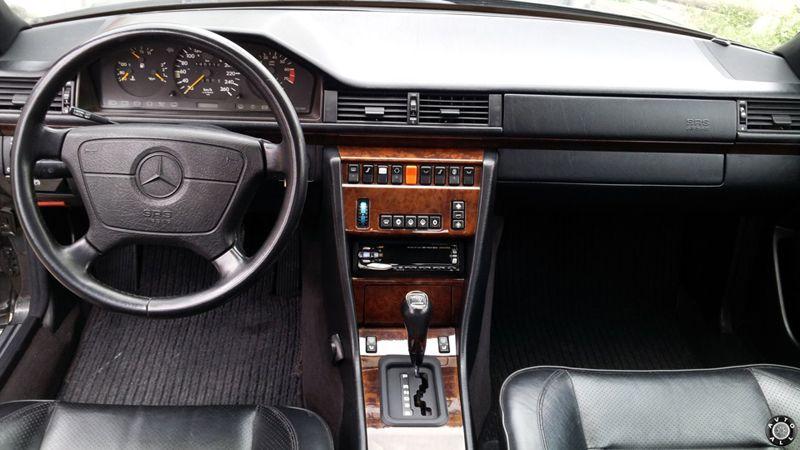 Mercedes E-class W124 салон