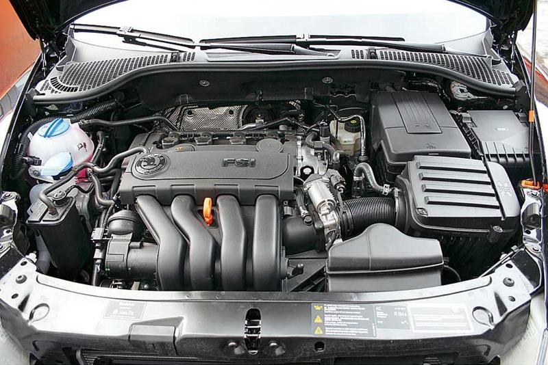Skoda Octavia A5 мотор