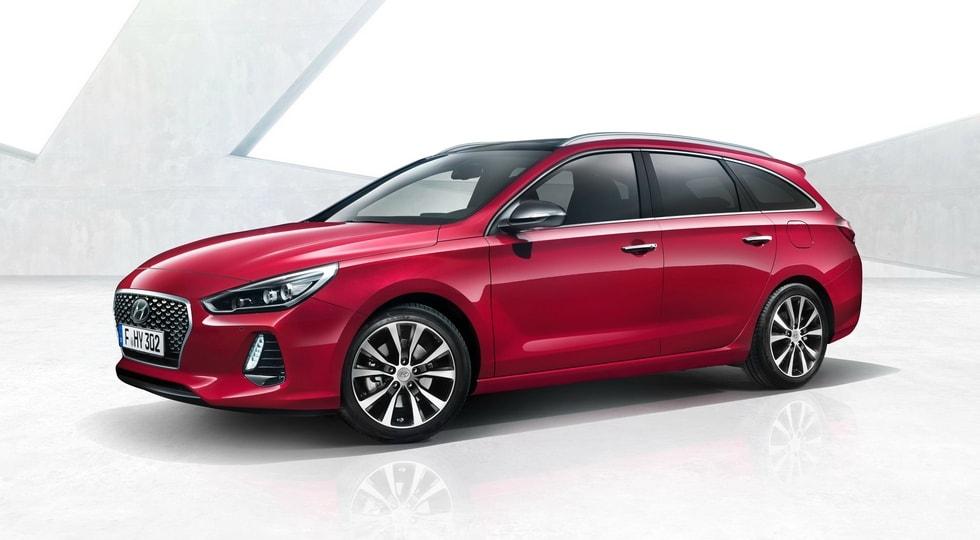Корейцы опубликовали фотографии нового универсала Hyundai i30 Tourer