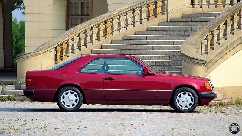 mercedes E-class W124 купе