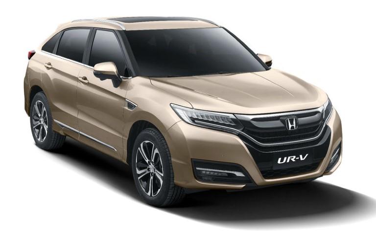 Китайские партнеры Хонды выпустили клон кроссовера Honda Avancier - Honda UR-V