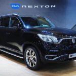 На Сеульском авто-шоу официально представлен новый рамный внедорожник SsangYong Rexton