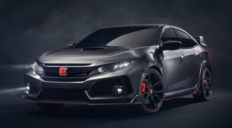 Японцы привезли на Женевское авто-шоу новопоколенный хот-хэтч Хонда Цивик