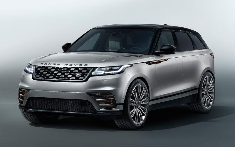 Компания Ягуар Лэнд Ровер представила гламурный кроссовер Range Rover Velar