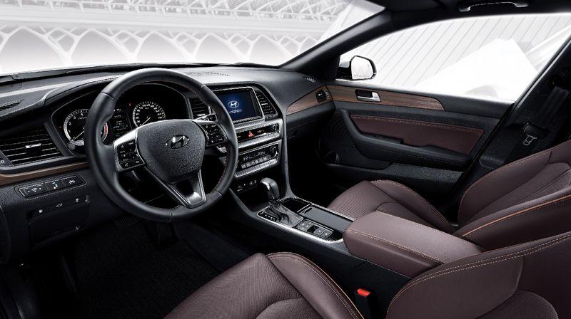 Рестайлинговый седан Hyundai Sonata приедет в автосалоны страны в сентябре