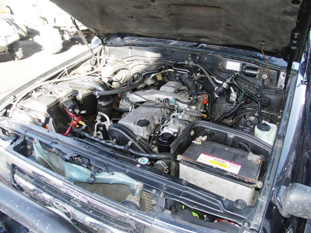 Тойота Крузер 80 мотор