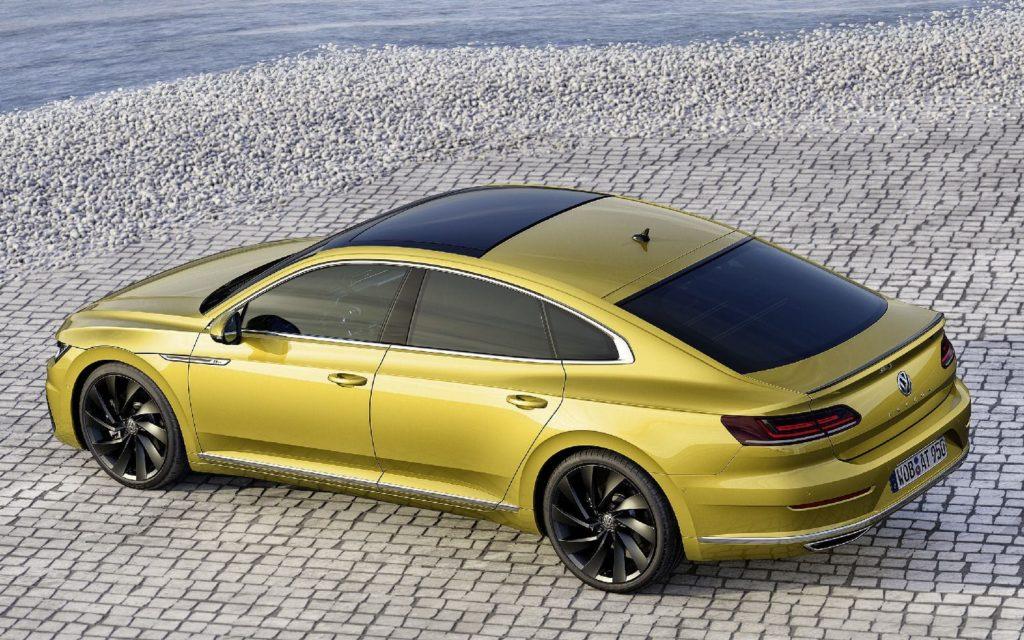 Немцы привезли в Женеву альтернативу Volkswagen CC - фастбек Volkswagen Arteon