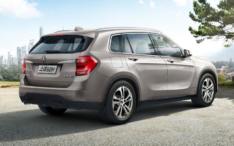 В Поднебесной начали продавать экологический аналог BMW X1 - гибрид-кроссовер Zinoro 60H