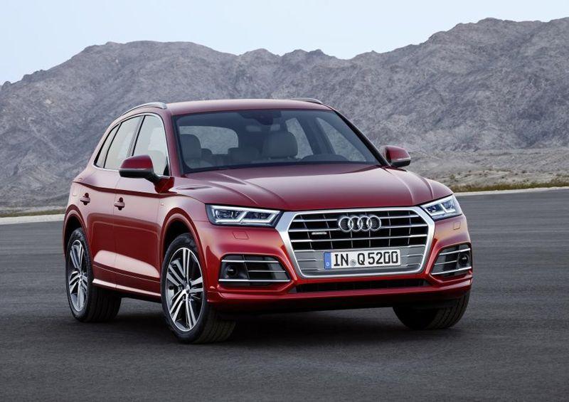 Audi Q5 2017 года