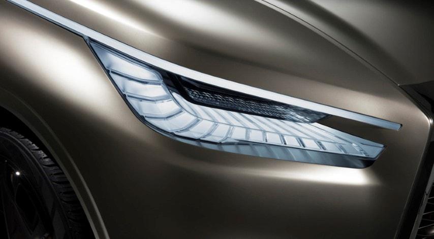 На Нью-Йоркском мотор-шоу японцы представили концепт-кар полноразмерного кроссовера Infiniti QX80