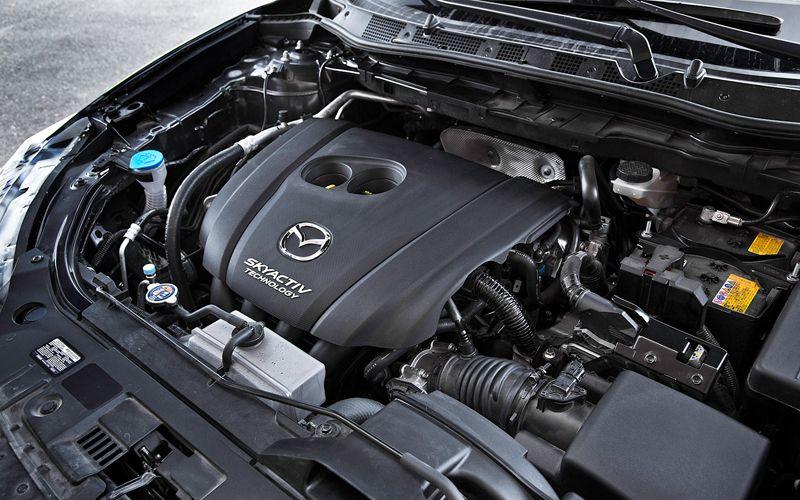 Mazda CX-5 мотор